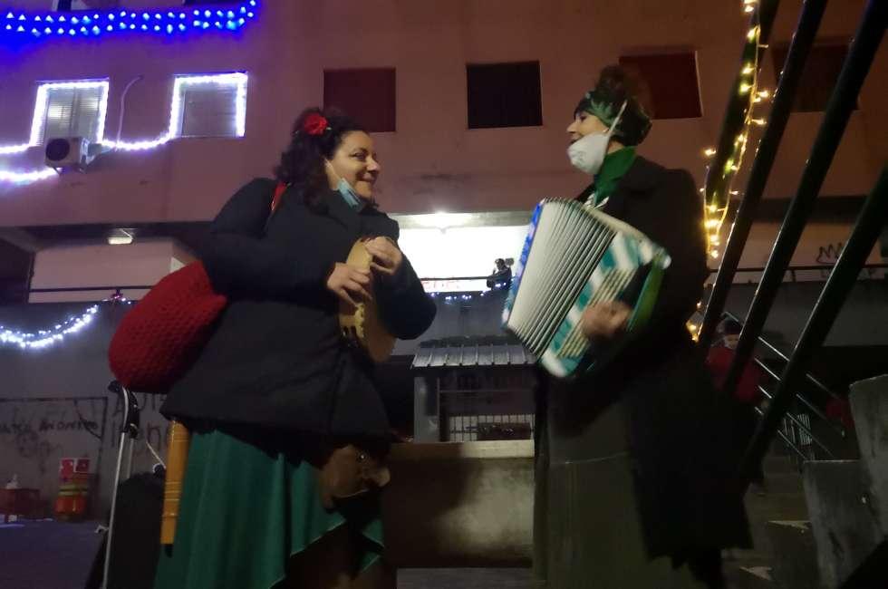 Dolores Melodia e Loredana Sorasoul, Case dei Puffi