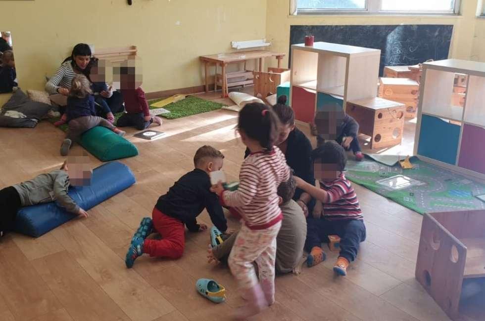econido scampia aula Montessori